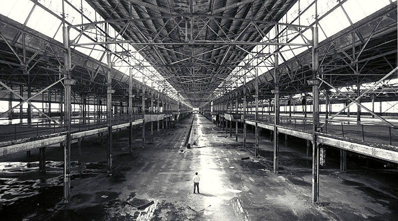 Ford Motor Assembly plant in Edgewater NJ