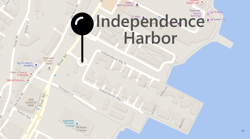 Independence Harbor on Map